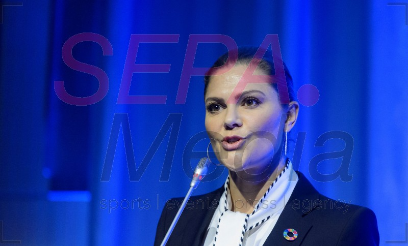 Crown Princess Victoria Of Sweden Attends Ministerial Conference On Nuclear Science and Technology 2018