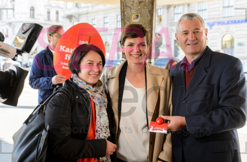 20190418 Distribution campaign by SPOe named KarFREItag for a free Good Friday